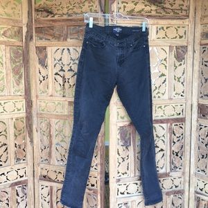Charcoal stretch skinny jeans
